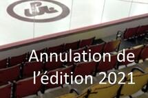 Annulation de l'édition 2021
