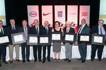 Claude Frappier et Denis Baillairgé honorés par Hockey Canada
