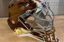 Le nouveau masque du gardien de but Zach Fucale