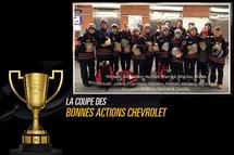 Coupe des Bonnes Actions Chevrolet / Patriotes Laval 2018