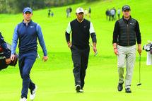 Rory McIlroy et Justin Thomas sont deux des joueurs les plus susceptibles de remporter des tournois majeurs sous le nez de Tiger Woods.