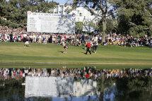 Le parcours de Torrey Pines lors du triomphe de Tiger Woods, en 2008. (Getty)