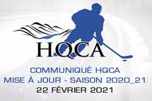 HQCA se concentrera sur les activités locales
