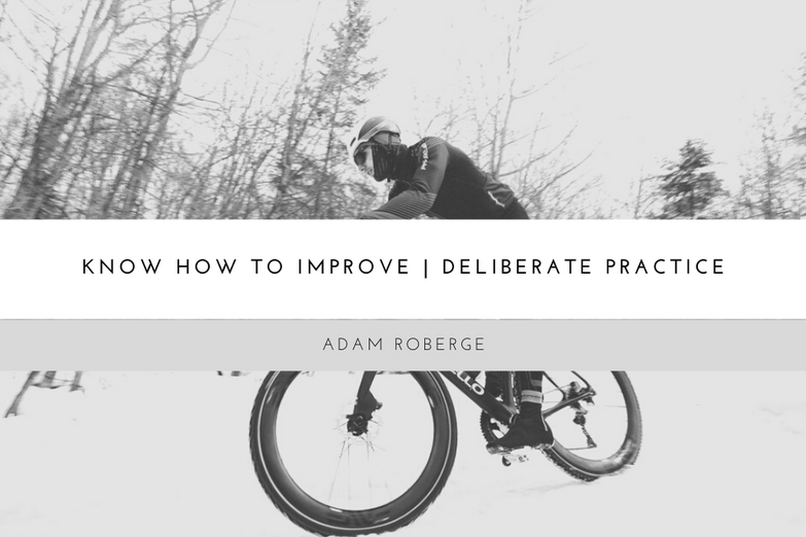Deliberate Practice as the Only Way to Reach your Full Potential