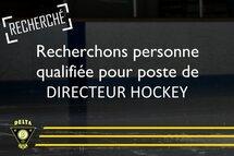 Recherché: directeur hockey