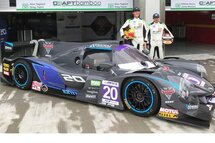 Alex Tagliani so close to a podium finish in the inaugural weekend of the FRD LMP3 Series in China