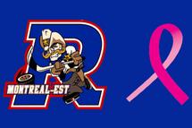 Les Rangers amassent des dons pour la Fondation Cancer du Sein