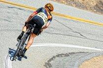 Lex Albrecht racing up Glendora Mountain