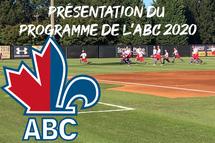 PRÉSENTATION DU PROGRAMME DE L'ABC 2020
