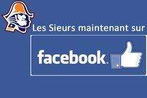 Les Sieurs de Longueuil maintenant sur Facebook!