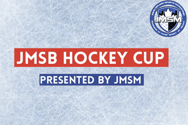 The JMSB Hockey Cup starts at 4PM today