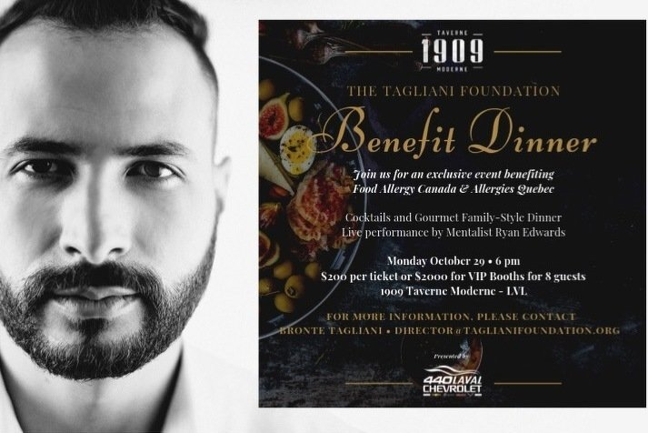 Tagliani Foundation Benefit Dinner 2018