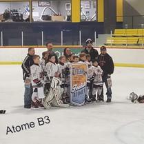 Atome B2 Finalistes Tournoi St-Raymond