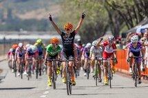 Lex Albrecht gagne le deuxième étape de la course San Dimas Stage Race en Californie
