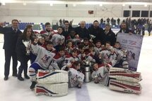 PeeWee AA National Est - Champion à Repentigny