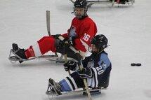 Une réussite sur toute la ligne pour le hockey sur luge