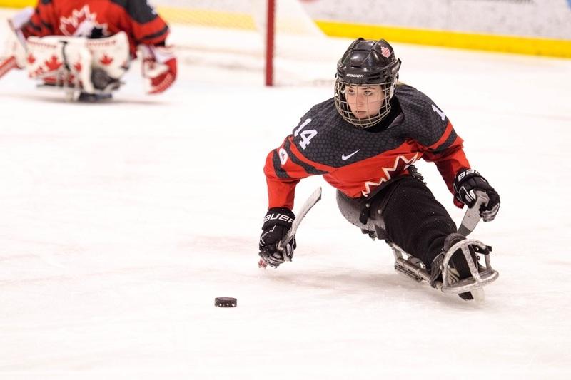 La parahockeyeuse Raphaëlle Tousignant récompensée par la FAEQ