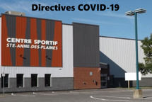 Directives COVID-19 du Centre sportif SADP
