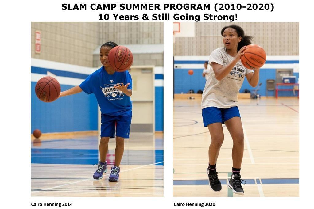 SLAM CAMP 10 years later, stronger than ever!
