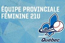 Nomination des entraîneurs de l'équipe du Québec 21U