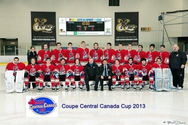 CENTRAL CANADA CUP – DEUXIÈME JOURNÉE –   Première défaite pour la formation LHJAAAQ  St-Louis-Lalime