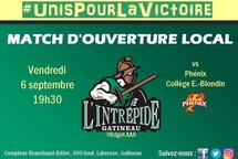 MATCH D'OUVERTURE LOCAL