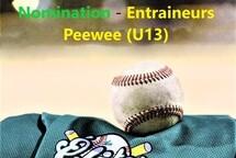 Nomination - Entraineurs Peewee (U13)