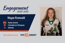Megan Kronwald - Crédit photo - Courtoisie de l'athlète