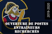 OUVERTURE DE POSTES...