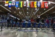 Photo prise lors de la première journée de la Qualification nationale à Saguenay au Centre Georges-Vezina à l'automne 2016. — Photo Patrice Lapointe