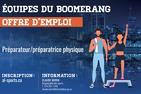 Offre d'emploi - Préparateur/préparatrice physique recherché.e