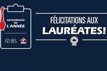 Entraîneure de l'année BFL: Alyssa Cecere et Stéphanie Grenier gagnantes provinciales