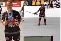 Marie-Andrée Leclerc-Auger: La Passion du hockey – De la glace à la surface