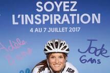 Lex Albrecht, cycliste professionnelle. Porte parole du Tour Cycliste Charles Bruneau