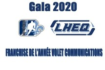 Gala méritas Virtuel de la LHEQ volet Masculin saison 2019-20