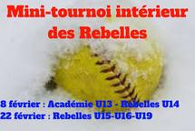 Dévoilement des équipes de la 3e édition du mini-tournoi intérieur des Rebelles