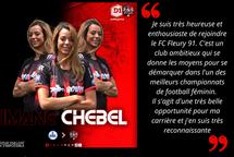 Imane Chebel signe en France