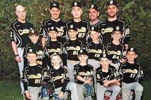 Les Cascades champions division EST Atome A - saison régulière