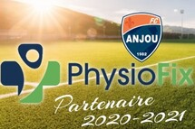 L'Association de Soccer Anjou est fier de vous présenter notre nouveau partenaire pour la saison 2020-2021 : PhysioFix Anjou!