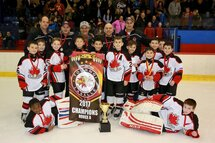 CSL Novice A Canucks Win the Lasalle Tournament