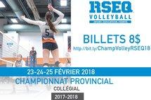 Volleyball: Le Cégep accueille le championnat provincial