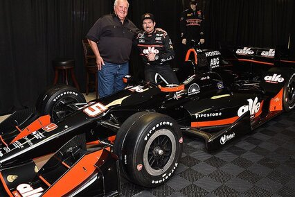 Alex Tagliani entered at the Indianapolis Grand Prix this weekend