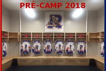 Inscription Pré-camp 2018