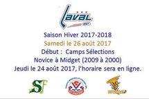 Dates Importantes : Camps de Sélections
