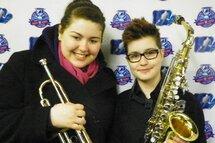Deux musiciennes talentueuses au Bantam CC