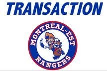 *TRANSACTION* Les Rangers envoient trois joueurs aux Shamrocks