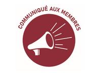COMMUNIQUÉ DU 30 OCTOBRE 2020