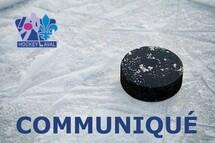 Mise à jour des activités hockey