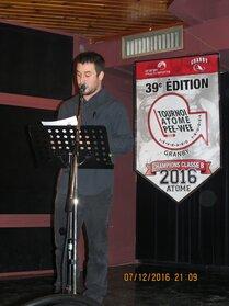 Vincent Lacroix, animateur