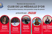 Quatre athlètes récompensés au Défi sportif AlterGo